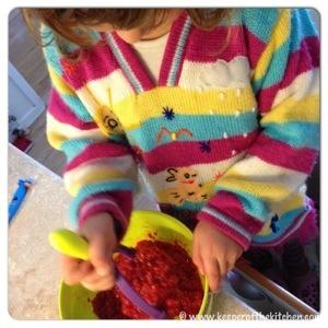 Smashing berries