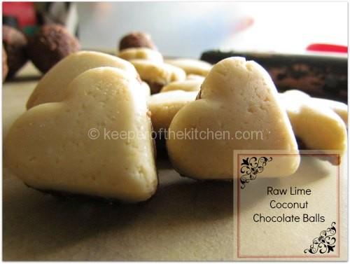Raw Lime Coconut Chocolate Treat