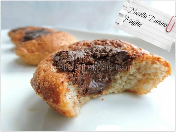 Nutella Banana muffin