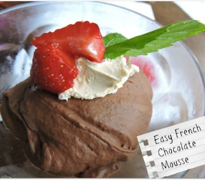 Easy French Chocolate Mousse