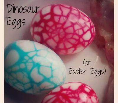 Dinosaur Easter Eggs
