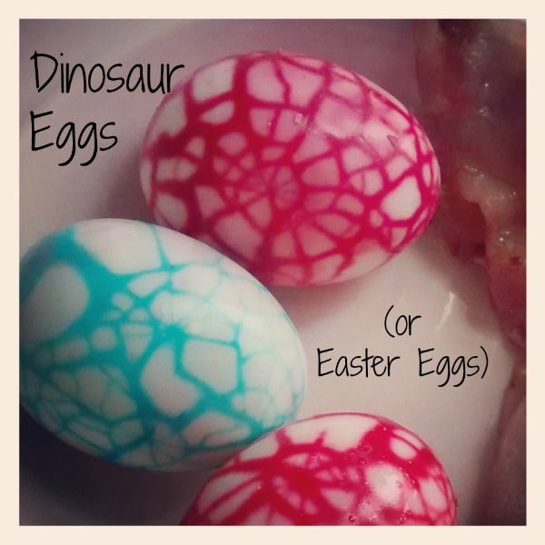 Dinosaur Eggs Easter Eggs