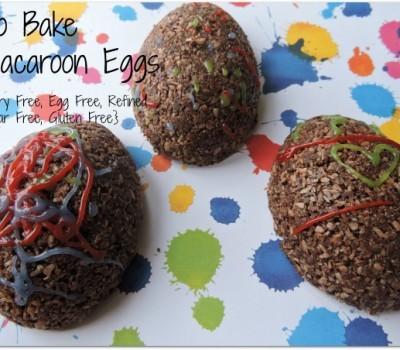 Easter Egg Macaroons