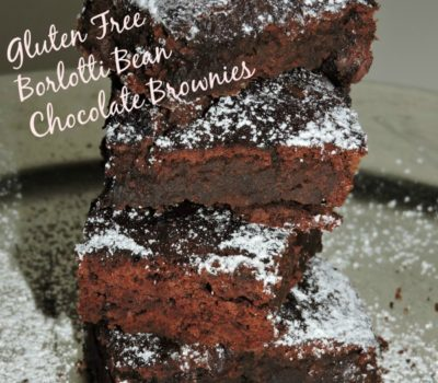 Borlotti Bean Chocolate Brownie