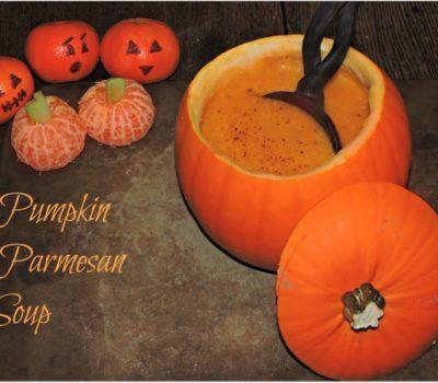 Pumpkin Parmesan Soup