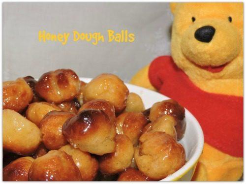Honey Dough Balls