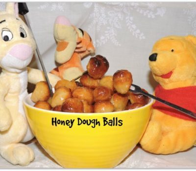 Honey Dough Balls