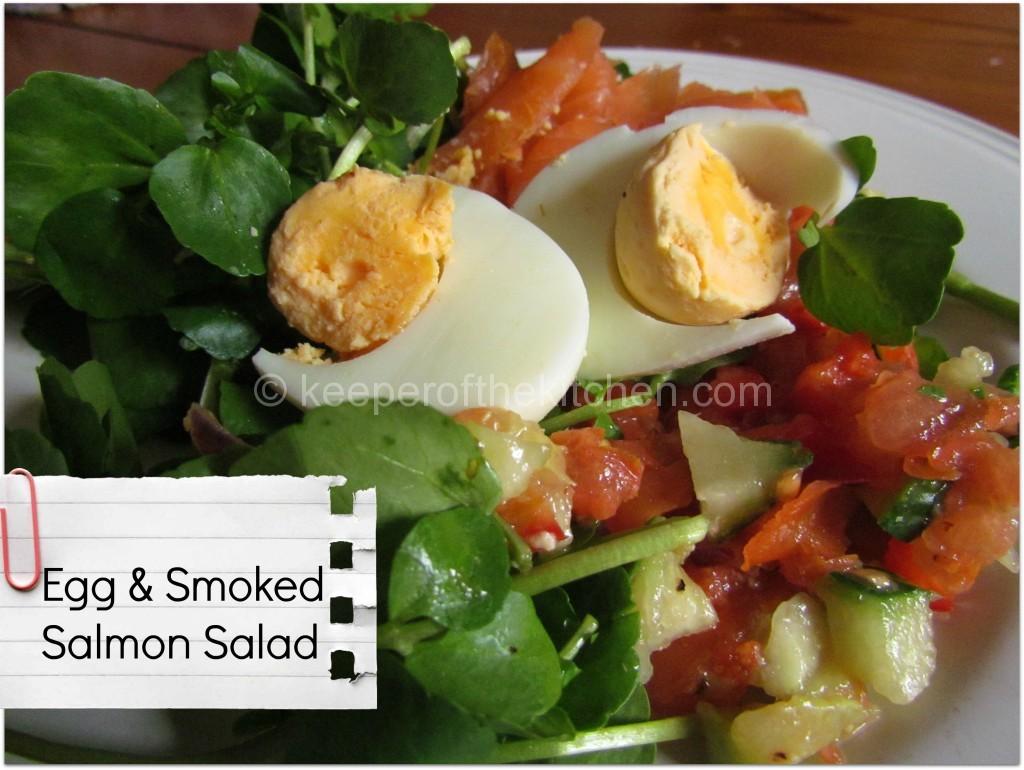 Egg and smoked salmon 2