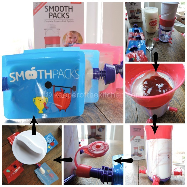 Smoothpacks Reusable Yoghurt Amp Smoothie Pouches Keeper