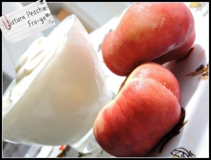 Saturn Peach Fro-yo