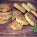 Carrot and Cheese Shortbread