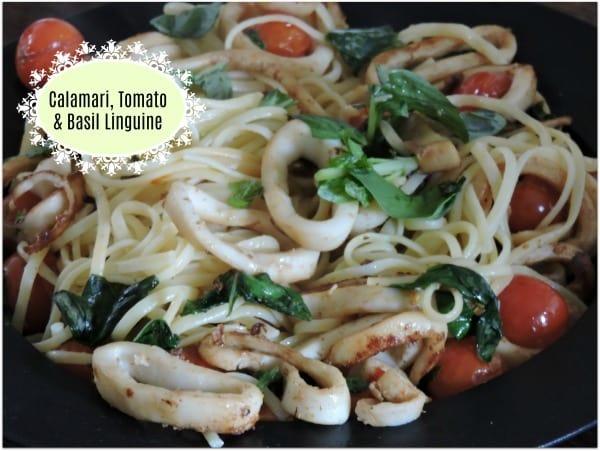 Calamari Tomato & Basil