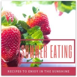 Recipes to enjoy in the sunshine