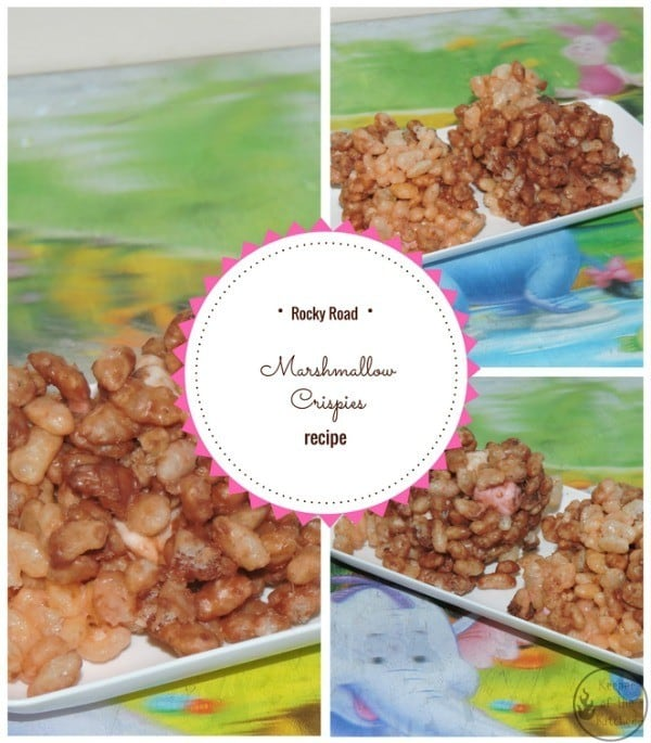 Rocky Road Marshmallow Crispies Recipe