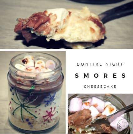 Bonfire Night Cheesecake