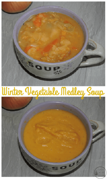 Winter Vegetable Medley Soup
