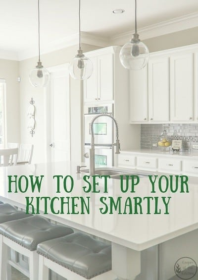 How To Set Up Your Kitchen Smartly Keeper Of The